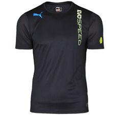 Puma Shirt evoSpeed Training Tee [S-M-L-XL] Fitness Sportshirt schwarz-gelb NEU