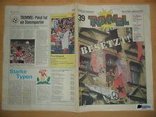 TROMMEL 39/1990 DDR-Pionierzeitung Hausbesetzung Berlin Dick Tracy mit Madonna