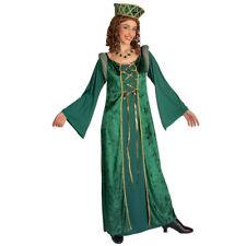 DAMEN MITTELALTER GEWAND Karneval Larp Burg Burg MA Prinzessin Kostüm Kleid 4426