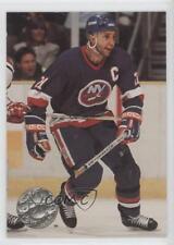 1991-92 Pro Set Platinum #74 Brent Sutter New York Islanders Hockey Card