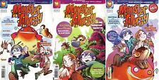 Monster Allergy&Die Monster Gazette-Sammelkarten-Manga-Carlsen Comics-neuwertig