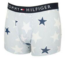 Neuf avec étiquettes Tommy Hilfiger Th Drapeau Logo Homme Boxers Rouge Bleu Clair Ou Bleu Marine Sous-vêtements