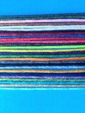 Multi Waxed Cotton Beading Cord - String 1.5mm, 5yd, 10yd, 25yd u choose