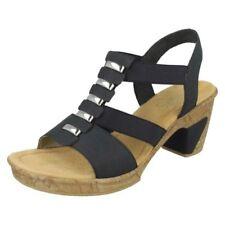 Donna Rieker alla Moda Sandali con Tacco '69792'