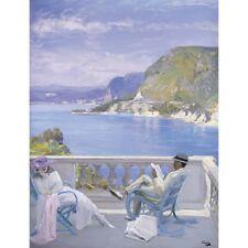 Sur la Riviera-J Lavery Imprimer