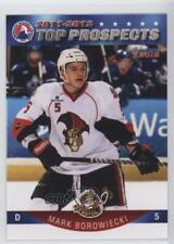 2011 Choice AHL Top Prospects #04 Mark Borowiecki Binghamton Senators (AHL) Card