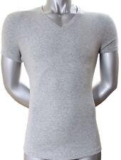 Dsquared2 V - Ausschnitt T - Shirt V - Shirt grau S M L XL XXL High Fashion