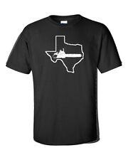 Texas Chainsaw Halloween Funny  WHITE PRINT Men's Tee Shirt 178