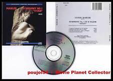 "MAHLER ""Symphonie n°1 Titan"" (CD) Anton Nanut 1988"