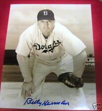 Billy Herman signed/auto Dodgers photo-Hof-e