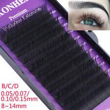 B C D Curl Individual Lashes False Eyelashes Faux Mink Hair Eyelashes Extension