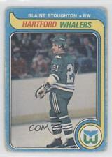 1979-80 O-Pee-Chee #356 Blaine Stoughton Hartford Whalers Hockey Card