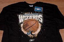 Washington Wizards T-shirt XL Reebok Awesome Graphics NBA Free Shipping in USA