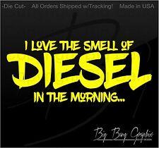 Funny Diesel vinyl decal sticker Heavy Equipment Operator Trucker Truck Turbo