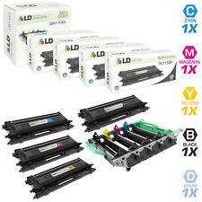 LD Remanufactured Brother TN115 5PK:  DR110CL/TN115BK/TN115C/TN115M/TN115Y