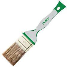 Mako Glaze-Flax Soft Grip 2K with Tin opener/Scraper, Glaze Brush brush