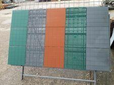 Piastrella Mattonella da Giardino Esterno in Plastica due versioni colori vari