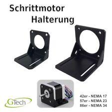 Schrittmotor Halterung L Montage NEMA 17 / 23 / 34 / CNC 3D Druck