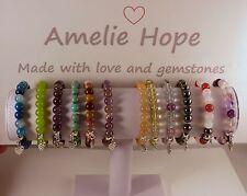 AMELIE HOPE GEMSTONE CRYSTAL HEALING BRACELET