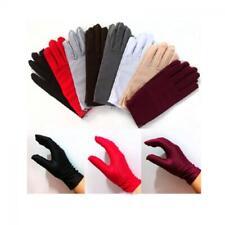 Evening Party Prom Gloves Wrist Wedding Short