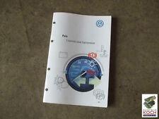 ENGLISCHE Betriebsanleitung VW Polo 6N2 GTI Bedienungsanleitung