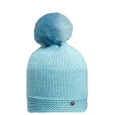 CMP Berretto di maglia cappello invernale Blau ponpon pelliccia Pile Strass