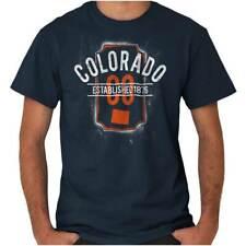 Vintage Colorado Sports University Souvenir Short Sleeve T-Shirt Tees Tshirts