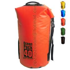 KARANA OCEAN DRY PACK WATERPROOF Kayak spalla giorno MONTGOMERY BAG ZAINO SACCO 40L