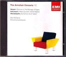 KLEMPERER Annie FISCHER SCHUMANN Piano Concerto MENDELSSOHN Symphony 4 MOZART CD