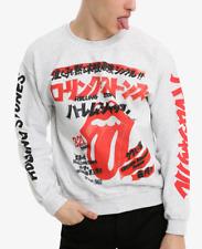 Rolling Stones HARLEM SHUFFLE JAPAN Sweater Sweatshirt NEW 100% Authentic