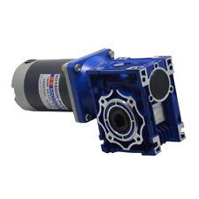 New 300W Worm Gear Reducer Gearbox Electric RV Gear Motor High Torque DC12V/24V