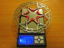 Quaxar Axim RED floating disc brake rotor 160mm ultralight! c69g!, MTB, CX, Road