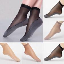 NEW Ultra-thin Elastic Silk Short Silky Stockings Women Ankle Socks 4 Colors