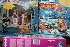Calendrier Avent Playmobil Police,Noël 4156 4165 4162 4166 4153 4161 4167 4159