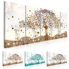 Wandbilder xxl Baum des Lebens Klimt Leinwand Bilder Wohnzimmer l-A-0009-b-n