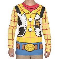 Adult Unisex Toy Story I am Woody Long Sleeve Costume T-shirt