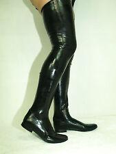 Latex Overknee Stiefel 41 42 43 44 45 46 47  -Bolingier POLAND  FS1190 heel 1cm