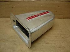 1960s NICSON ENDERLE EELCO 1X4 AIR CLEANER SCOOP ALUMINUM 671 BLOWER HOLLEY BOAT