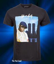 New Notorious B.I.G Biggie Smalls World Trade Center Mens Vintage T-Shirt