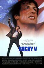 """ROCKY 5"" . .Sylvester Stallone  Retro Movie Poster Various Sizes"