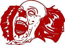 Clown Evil Jester Skull Circus Car Truck Laptop Window Vinyl Decal Sticker