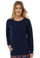 Schiesser Donna Uncover Ragazze Sweatshirt Chillshirt Pullover Xs S M L XL 34-42