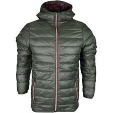883 Police Downer Lightweight Green Hooded Jacket