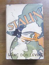 Isaac Don Levine  JOSEPH STALIN BIOGRAPHY 1st HCDJ 1931 VG+ RARE