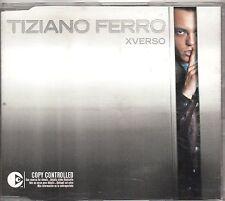 TIZIANO FERRO raro CD single 3 tracce 2003 XVERSO made in ITALY