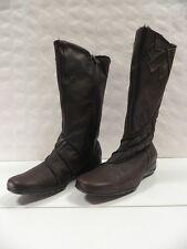 Bottes PEDI GIRL Klervie marron FEMME taille 39 boots woman leather cuir NEUF