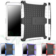 Pellicola+Custodia Rugged rinforzata p iPad Air 2 2014 cover stand doppio strato