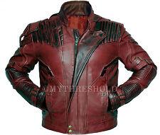Guardians of the Galaxy 2 Star Lord Chris Pratt Biker Style Leather Jacket