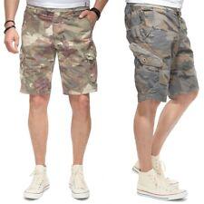 JET LAG Cargo Pantaloncini so16-18 IN NEW floreale MIMETICO und Cement MIMETICO