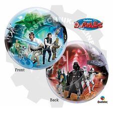 Qualatex BUBBLES Disney STAR WARS (Star Wars Ballon, Star Wars Luftballon)
